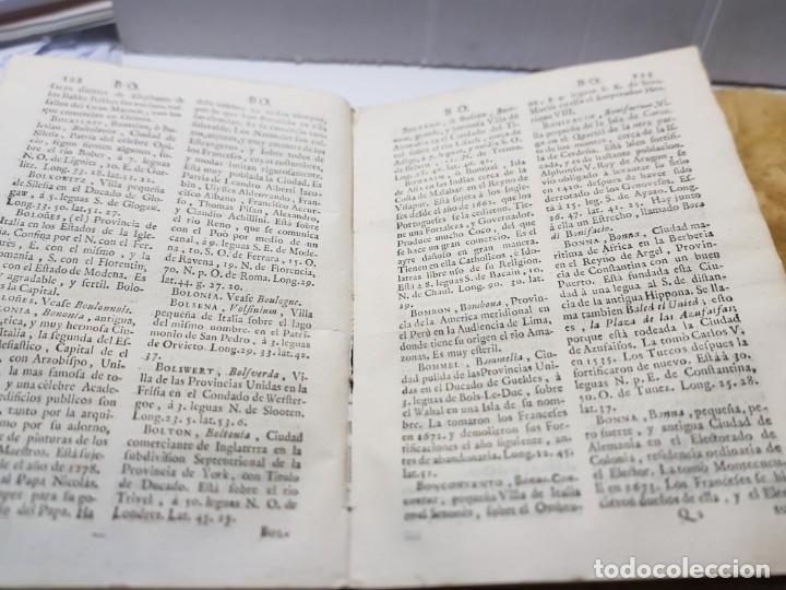 Diccionarios antiguos: Diccionario o Descripción de Todos los Reinos ,Obispados, Ducados etc Juan de la Serna 1750 - Foto 3 - 252426200