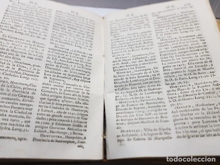 Diccionarios antiguos: Diccionario o Descripción de Todos los Reinos ,Obispados, Ducados etc Juan de la Serna 1750 - Foto 4 - 252426200