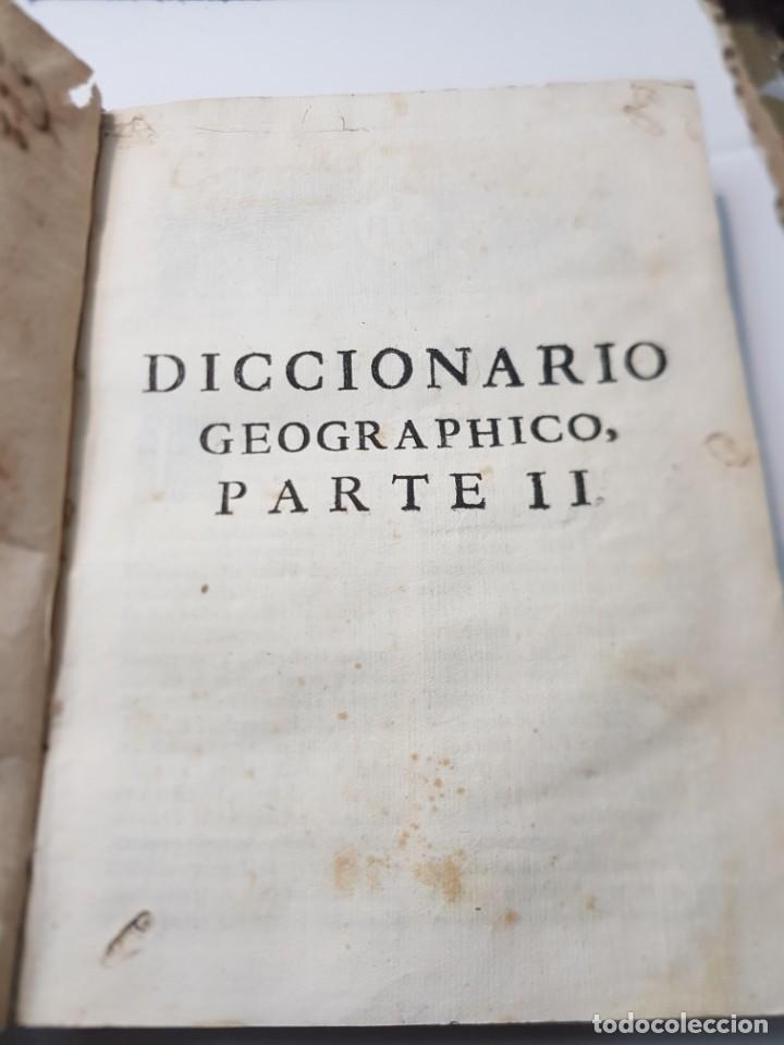 Diccionarios antiguos: Diccionario o Descripción de Todos los Reinos ,Obispados, Ducados etc Juan de la Serna 1750 - Foto 12 - 252426200