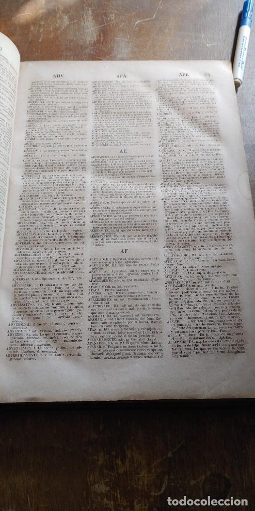 Diccionarios antiguos: DICCIONARIO DE LA LENGUA CASTELLANA - LA ACADEMIA ESPAÑOLA - DÉCIMA EDICIÓN - AÑO 1852, pymy x - Foto 2 - 253503075