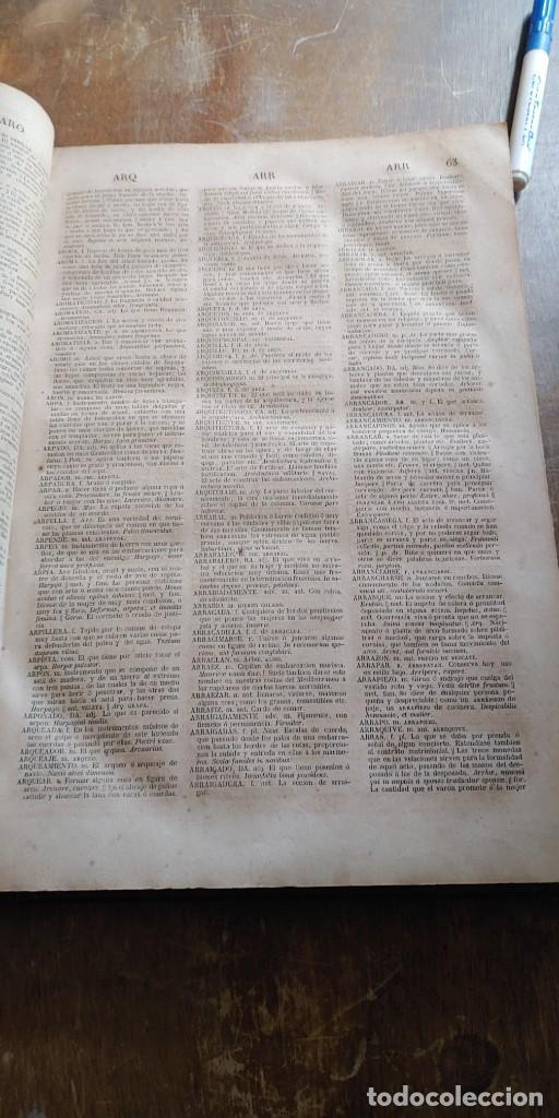 Diccionarios antiguos: DICCIONARIO DE LA LENGUA CASTELLANA - LA ACADEMIA ESPAÑOLA - DÉCIMA EDICIÓN - AÑO 1852, pymy x - Foto 3 - 253503075