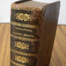 Diccionarios antiguos: NOUVEAU DICTIONNAIE FRANCAIS – EPAGNOL / POR S. H. BLANC / PARÍS 1857. Lote 253922140