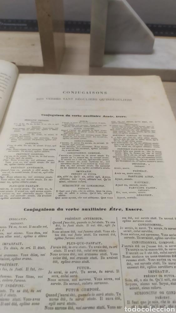 Diccionarios antiguos: Diccionario Francais Italien, Ferrari - Foto 4 - 255985490