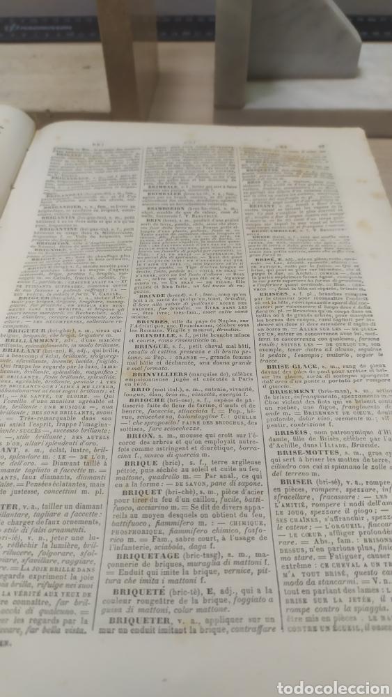 Diccionarios antiguos: Diccionario Francais Italien, Ferrari - Foto 5 - 255985490