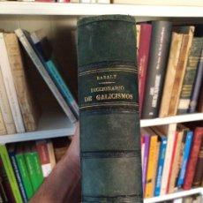 Livres anciens: DICCIONARIO DE GALICISMOS O SEA DE LAS VOCES, LOCUCIONES Y FRASES. BARALT, LIB. LEOCADIO LOPEZ, 1890. Lote 259306835