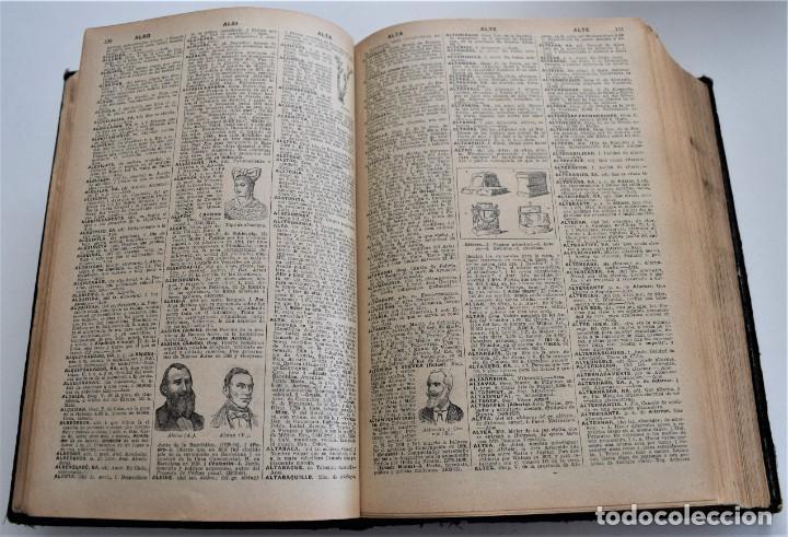 Diccionarios antiguos: ENCICLOPEDIA SOPENA, NUEVO DICCIONARIO ILUSTRADO DE LA LENGUA ESPAÑOLA COMPLETA 2 TOMOS AÑO 1926 - Foto 5 - 259920530