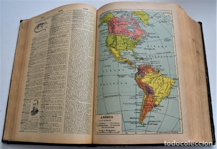 Diccionarios antiguos: ENCICLOPEDIA SOPENA, NUEVO DICCIONARIO ILUSTRADO DE LA LENGUA ESPAÑOLA COMPLETA 2 TOMOS AÑO 1926 - Foto 6 - 259920530