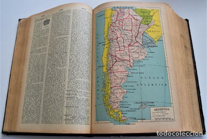 Diccionarios antiguos: ENCICLOPEDIA SOPENA, NUEVO DICCIONARIO ILUSTRADO DE LA LENGUA ESPAÑOLA COMPLETA 2 TOMOS AÑO 1926 - Foto 7 - 259920530
