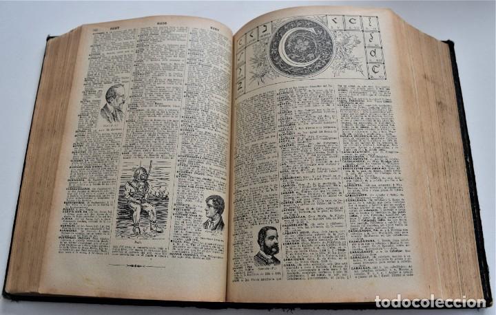Diccionarios antiguos: ENCICLOPEDIA SOPENA, NUEVO DICCIONARIO ILUSTRADO DE LA LENGUA ESPAÑOLA COMPLETA 2 TOMOS AÑO 1926 - Foto 8 - 259920530