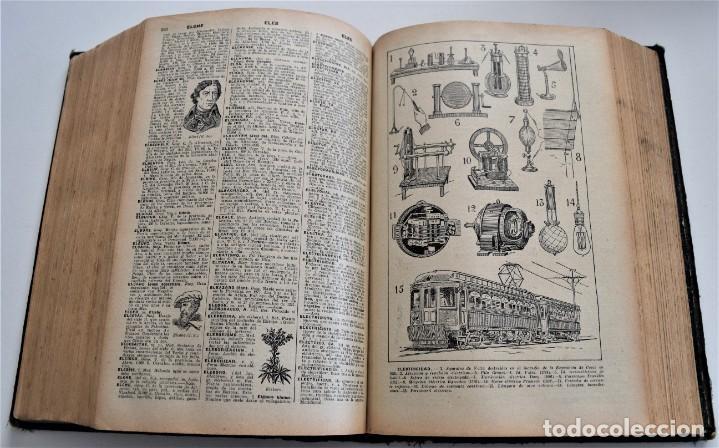 Diccionarios antiguos: ENCICLOPEDIA SOPENA, NUEVO DICCIONARIO ILUSTRADO DE LA LENGUA ESPAÑOLA COMPLETA 2 TOMOS AÑO 1926 - Foto 11 - 259920530