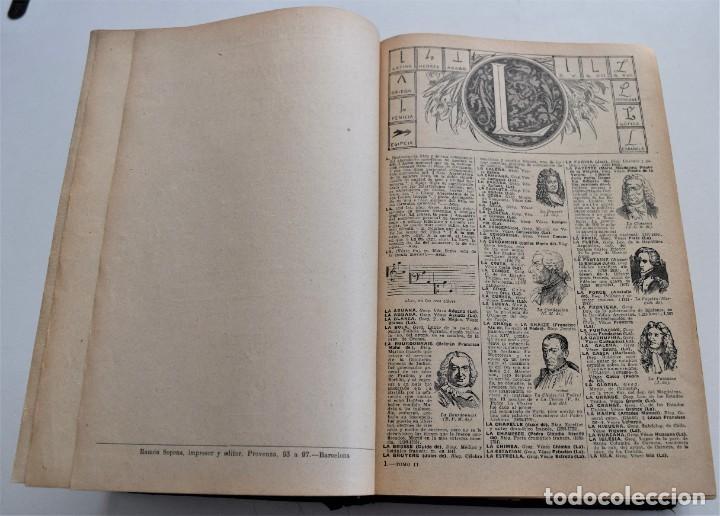 Diccionarios antiguos: ENCICLOPEDIA SOPENA, NUEVO DICCIONARIO ILUSTRADO DE LA LENGUA ESPAÑOLA COMPLETA 2 TOMOS AÑO 1926 - Foto 13 - 259920530