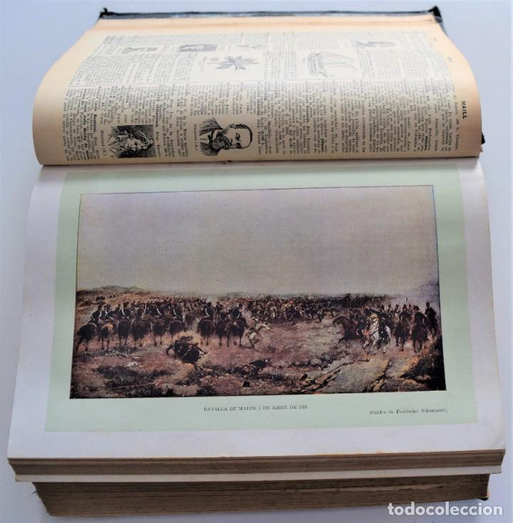 Diccionarios antiguos: ENCICLOPEDIA SOPENA, NUEVO DICCIONARIO ILUSTRADO DE LA LENGUA ESPAÑOLA COMPLETA 2 TOMOS AÑO 1926 - Foto 14 - 259920530