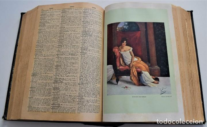 Diccionarios antiguos: ENCICLOPEDIA SOPENA, NUEVO DICCIONARIO ILUSTRADO DE LA LENGUA ESPAÑOLA COMPLETA 2 TOMOS AÑO 1926 - Foto 19 - 259920530
