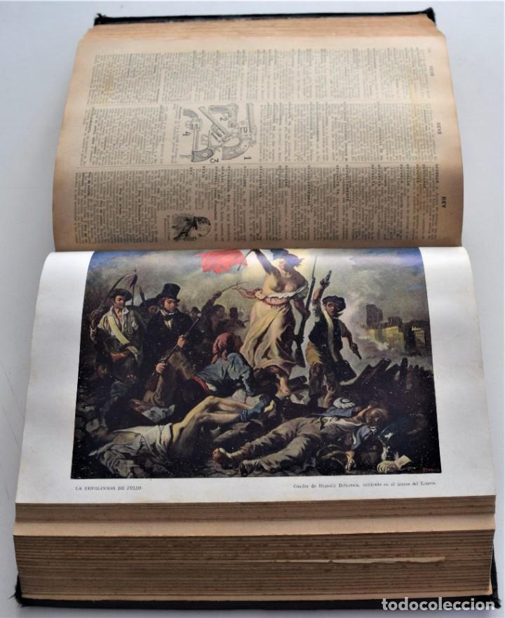 Diccionarios antiguos: ENCICLOPEDIA SOPENA, NUEVO DICCIONARIO ILUSTRADO DE LA LENGUA ESPAÑOLA COMPLETA 2 TOMOS AÑO 1926 - Foto 20 - 259920530