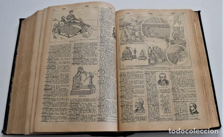 Diccionarios antiguos: ENCICLOPEDIA SOPENA, NUEVO DICCIONARIO ILUSTRADO DE LA LENGUA ESPAÑOLA COMPLETA 2 TOMOS AÑO 1926 - Foto 21 - 259920530