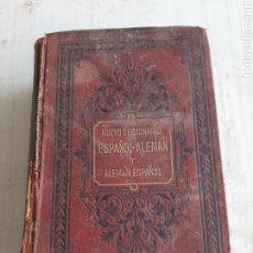 Diccionarios antiguos: DICCIONARIO ESPAÑOL ALEMÁN. 1891. Lote 261981910