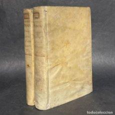 Diccionarios antiguos: 1752 - DICCIONARIO DE LATIN, FRANCES E ITALIANO - PERGAMINO. Lote 262676100
