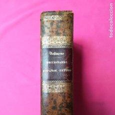 Livros antigos: DICCIONARIO ESPAÑO~LATINO - 1878 - D.MANUEL DE VALBUENA - LIB. GARNIER HNOS. , PARIS - PJRB. Lote 263212755