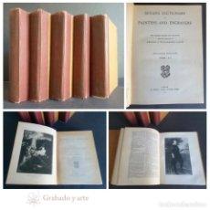 Diccionarios antiguos: BRYAN'S DICTIONARY OF PAINTERS AND ENGRAVERS. GEORGE C. WILLIAMSON.. 1920. V VOLÚMENES.. Lote 264511629