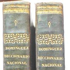 Livres anciens: DICCIONARIO NACIONAL. 2 VOL. 1846.. Lote 264701659