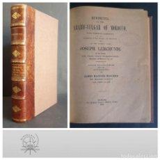 Diccionarios antiguos: RUDIMENTS OF THE ARABIC-VULGAR OF MOROCCO. JOSEPH LERCHUNDI. TANGIER. 1900.. Lote 265413404
