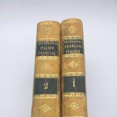 Diccionarios antiguos: DICTIONNAIRE PORTÁTIL AÑO 1810 FRANÇOIS ITALIEN. Lote 267121994