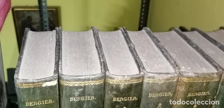 Diccionarios antiguos: LIBROS DICCIONARIO ENCICLOPÉDICO DE TEOLOGIA. BERGIER. 1831-1835 - Foto 9 - 267705234