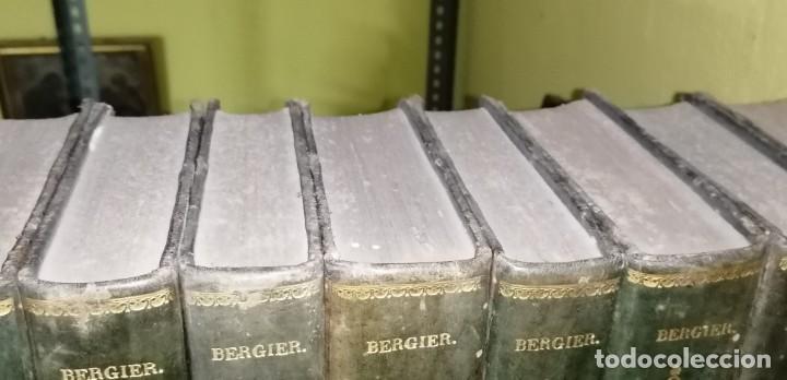 Diccionarios antiguos: LIBROS DICCIONARIO ENCICLOPÉDICO DE TEOLOGIA. BERGIER. 1831-1835 - Foto 10 - 267705234