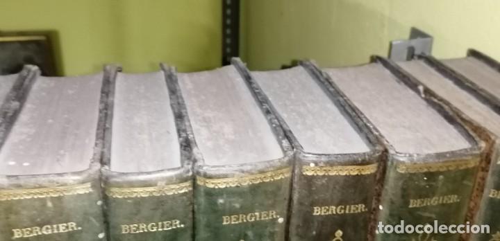 Diccionarios antiguos: LIBROS DICCIONARIO ENCICLOPÉDICO DE TEOLOGIA. BERGIER. 1831-1835 - Foto 11 - 267705234