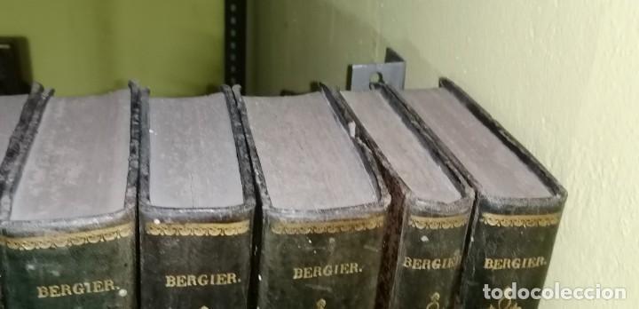 Diccionarios antiguos: LIBROS DICCIONARIO ENCICLOPÉDICO DE TEOLOGIA. BERGIER. 1831-1835 - Foto 12 - 267705234