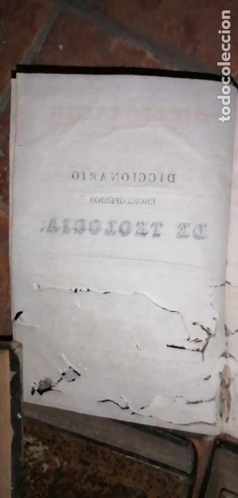 Diccionarios antiguos: LIBROS DICCIONARIO ENCICLOPÉDICO DE TEOLOGIA. BERGIER. 1831-1835 - Foto 32 - 267705234