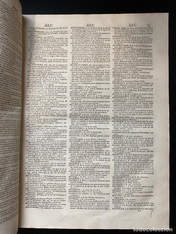 Diccionarios antiguos: DICCIONARIO DE LA LENGUA CASTELLANA. RAE. 6ª EDICION. IMPRENTA NACIONAL. MADRID, 1822. PAGS: 869 - Foto 6 - 268043664