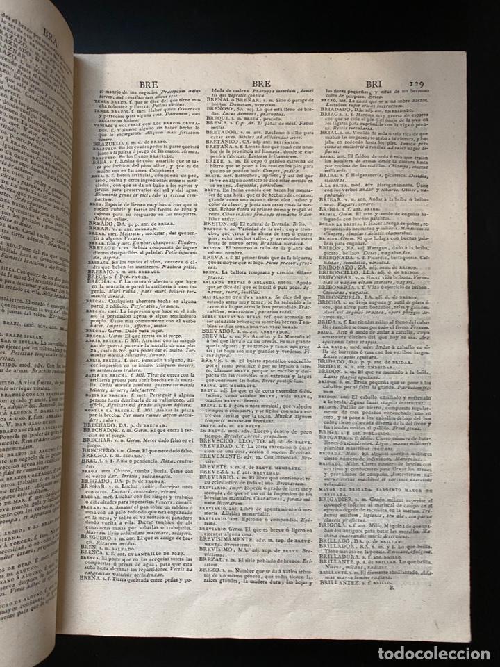 Diccionarios antiguos: DICCIONARIO DE LA LENGUA CASTELLANA. RAE. 6ª EDICION. IMPRENTA NACIONAL. MADRID, 1822. PAGS: 869 - Foto 7 - 268043664