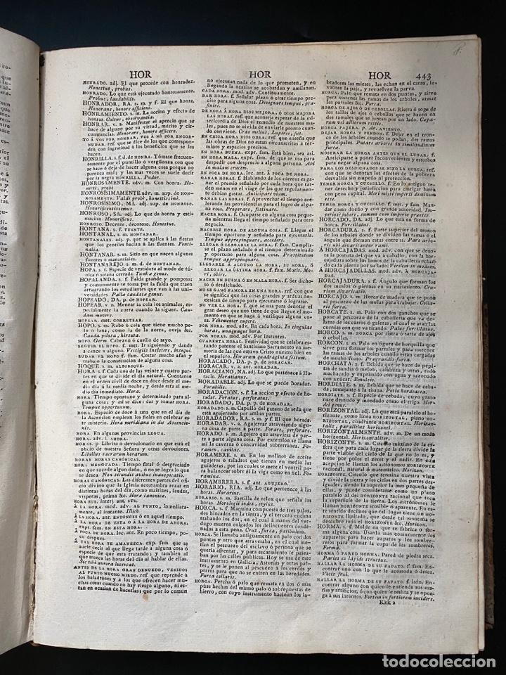 Diccionarios antiguos: DICCIONARIO DE LA LENGUA CASTELLANA. RAE. 6ª EDICION. IMPRENTA NACIONAL. MADRID, 1822. PAGS: 869 - Foto 10 - 268043664