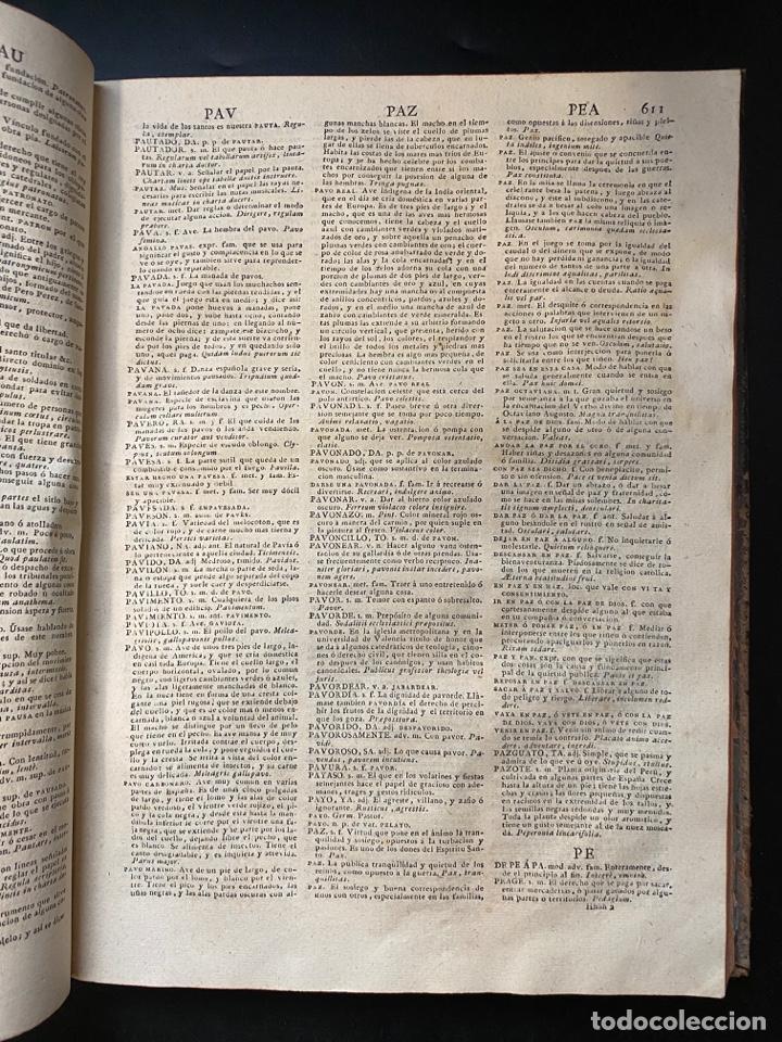 Diccionarios antiguos: DICCIONARIO DE LA LENGUA CASTELLANA. RAE. 6ª EDICION. IMPRENTA NACIONAL. MADRID, 1822. PAGS: 869 - Foto 12 - 268043664