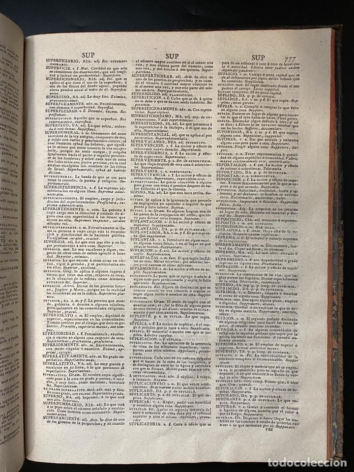 Diccionarios antiguos: DICCIONARIO DE LA LENGUA CASTELLANA. RAE. 6ª EDICION. IMPRENTA NACIONAL. MADRID, 1822. PAGS: 869 - Foto 14 - 268043664