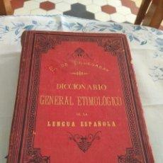 Diccionarios antiguos: DICCIONARIO GENERAL ETIMOLÓGICO DE LA LENGUA ESPAÑOLA. TOMO 1, A-B. Lote 269274218