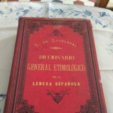 Diccionarios antiguos: DICCIONARIO GENERAL ETIMOLÓGICO DE LA LENGUA ESPAÑOLA. TOMO 5, Q-Z. Lote 269281598