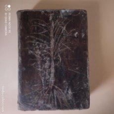 Diccionarios antiguos: DICCIONARIO LATINO-ESPAÑOL. VALBUENA REFORMADO. 1859. LIBRERIA DE ROSA Y BOURET. 235 PAGS.. Lote 270199768
