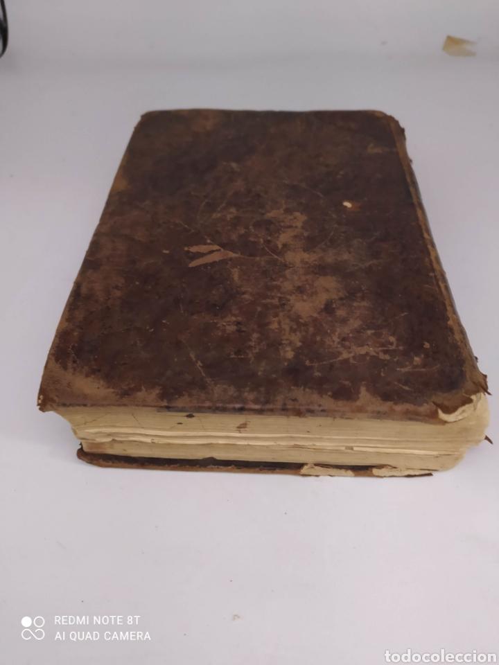 Diccionarios antiguos: Diccionario Español Latino por el Padre Juan Cayetano Losada de la Virgen del Carmen Madrid 1837 - Foto 5 - 272549298