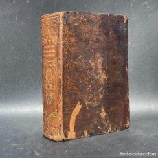 Libri antichi: 1852 - DICCIONARIO FRANCES - ESPAÑOL - JOSEPH DA FONSECA - BELLA ENCUADENACION. Lote 274386358