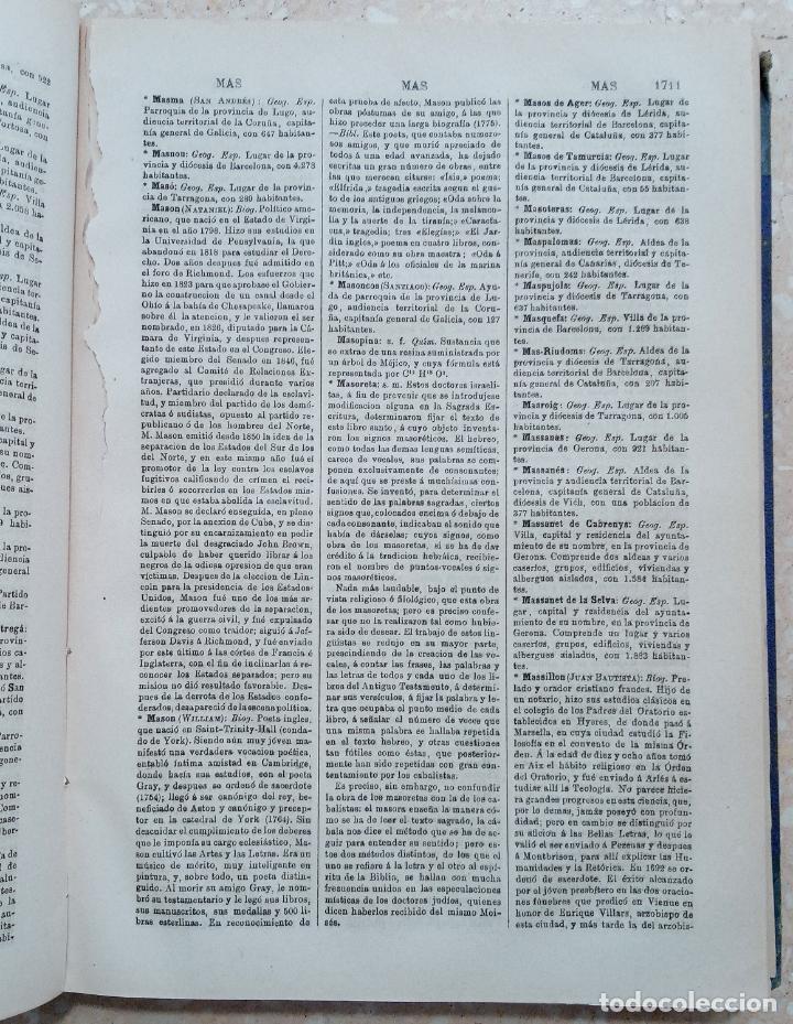 Diccionarios antiguos: APENDICE AL DICCIONARIO UNIVERSAL LENGUA CASTELLANA, CIENCIAS Y ARTES. TOMO XIV. 1881 - Foto 3 - 274596558