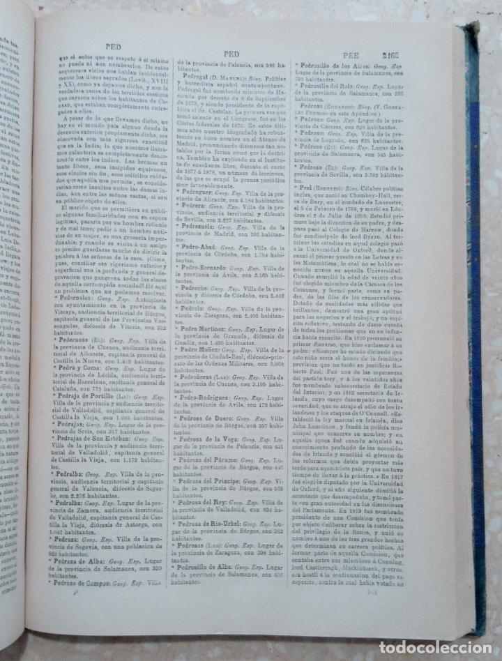 Diccionarios antiguos: APENDICE AL DICCIONARIO UNIVERSAL LENGUA CASTELLANA, CIENCIAS Y ARTES. TOMO XIV. 1881 - Foto 4 - 274596558