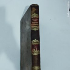 Diccionarios antiguos: BERGIER, DICCIONARIO DE TEOLOGIA TOMO 4 Q-Z 1846. Lote 274795118