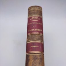 Diccionarios antiguos: DICCIONARIO DE GALICISMOS 1855. Lote 275202838