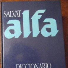 Diccionarios antiguos: DICCIONARIO ALFA ENCICLOPÉDICO 25X18 CM , VOLUMINOSO EN EXCELENTE CONDICIONES CERCA DE 2000 PAGINAS. Lote 276499048