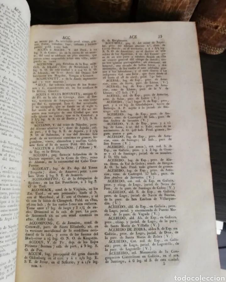 Diccionarios antiguos: 1831 - diccionario geográfico universal - 10 tomos - imprenta José torner Barcelona - Foto 3 - 276698093