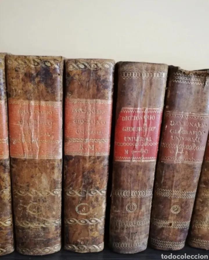 Diccionarios antiguos: 1831 - diccionario geográfico universal - 10 tomos - imprenta José torner Barcelona - Foto 5 - 276698093
