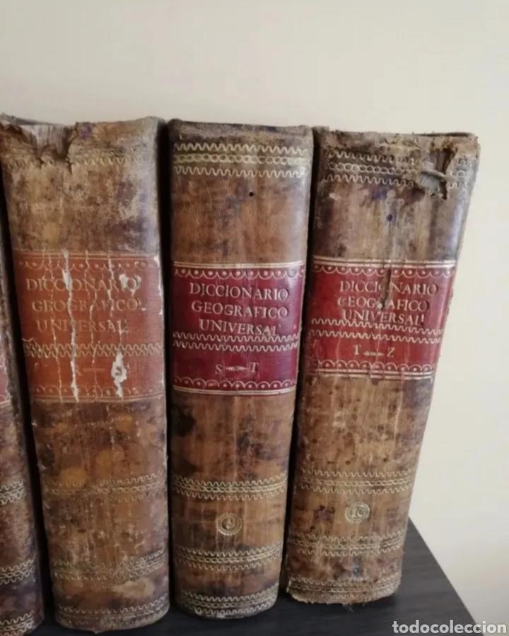 Diccionarios antiguos: 1831 - diccionario geográfico universal - 10 tomos - imprenta José torner Barcelona - Foto 6 - 276698093