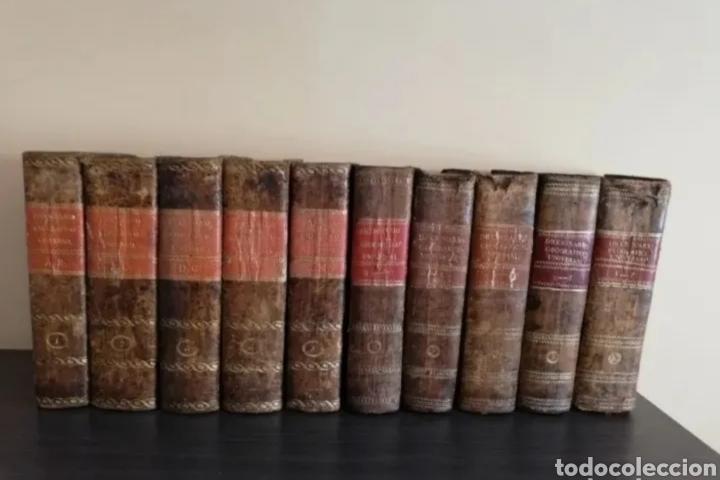 1831 - DICCIONARIO GEOGRÁFICO UNIVERSAL - 10 TOMOS - IMPRENTA JOSÉ TORNER BARCELONA (Libros Antiguos, Raros y Curiosos - Diccionarios)